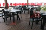 Градински пластмасови маси за ресторант