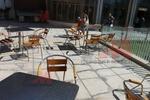 Здрави алуминиеви столове за дома и градината