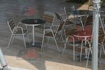 Алуминиеви маси за ресторант