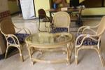 Комфортни и стилни мебели естествен ратан с доставка