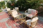 Стилни мебели естествен ратан с доставка