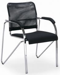 Посетителски стол SAMBA NET CHROME