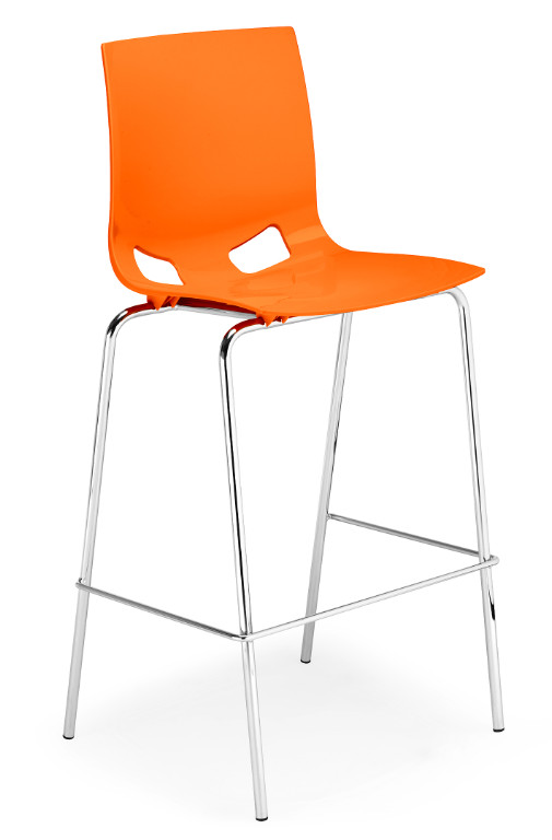 Бар стол Fondo hocker chrome