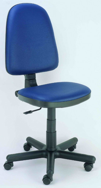 Работен стол PRESTIGE в изкуствена кожа