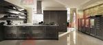 Кухненско обзавеждане с вградени уреди от среден ценови клас