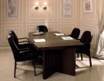 правоъгълна заседателна маса с 6 места