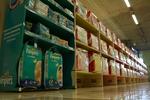 производство на стелажи за памперси